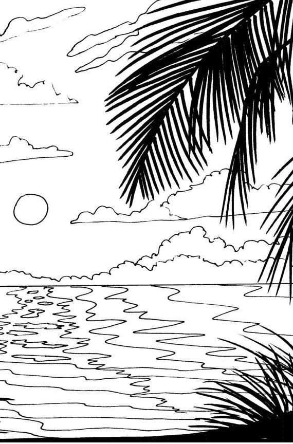 1000 ideas about beach coloring pages on pinterest summer