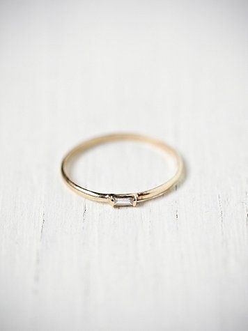 1000 Ideas About Baguette Ring On Pinterest Rings