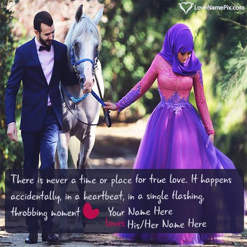 Write Cute Love Couple Name Ont Beautiful Romantic Couple Quotes Images And Surprise Your Lover