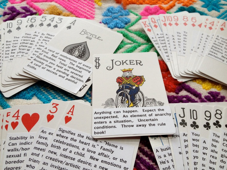 Cartomancy learners deck how to tell fortunes with