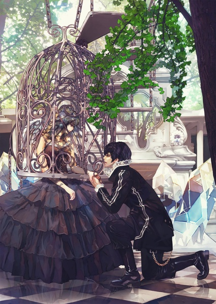 Princess In A Bird Cage Anime Overload Pinterest