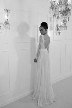 Yaki Ravid 5 Long Sleeve Lace Wedding Dress