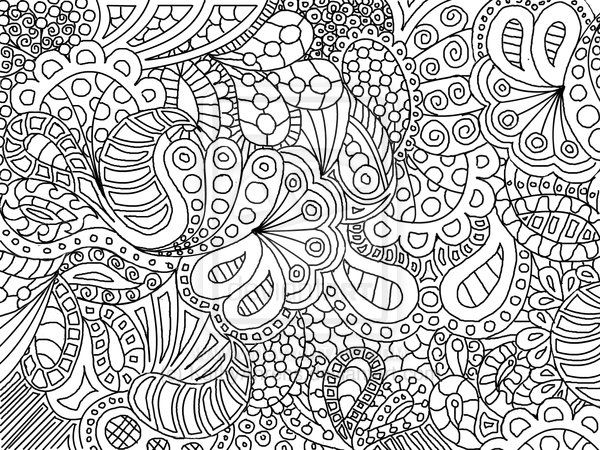 abstract flower coloring pages download abstract coloring pages at