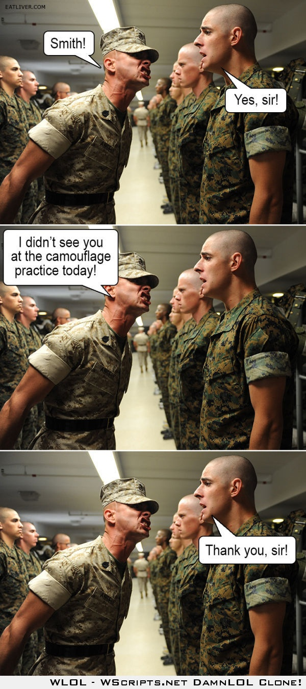 Drill instructor trolling Marine Corps Pinterest Drills