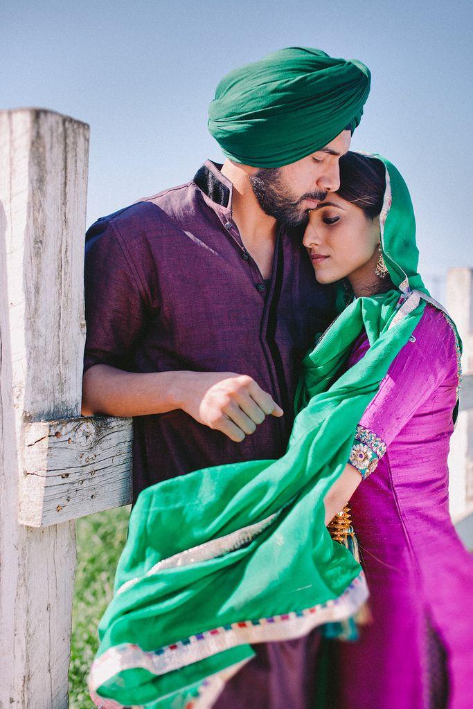 Beautiful Punjabi wedding photo India Pinterest