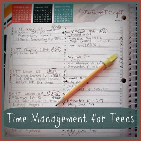 Time Management for Teens –