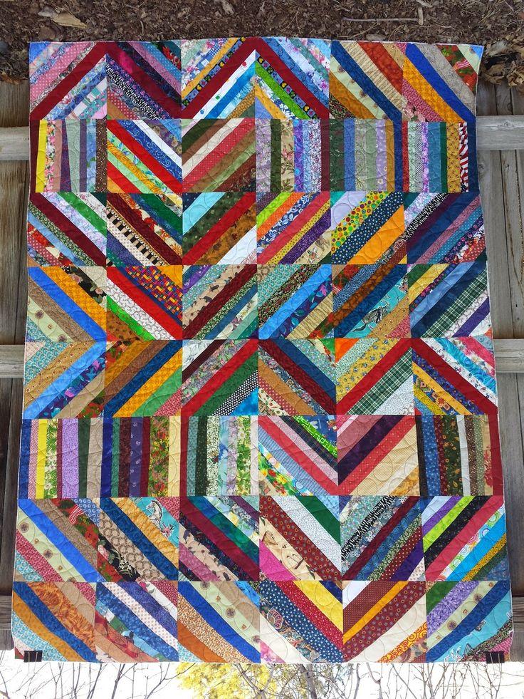 966 Best Scrap Amp Strip Quilts Images On Pinterest
