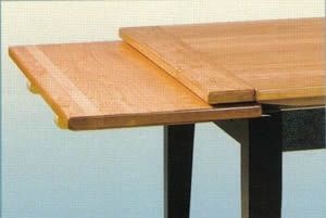 Leaf Table Plans Pid1210 Amish Stowleaf Draw Extension