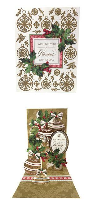 Anna Griffin Christmas Pop Up Card Making Kit Httpwww