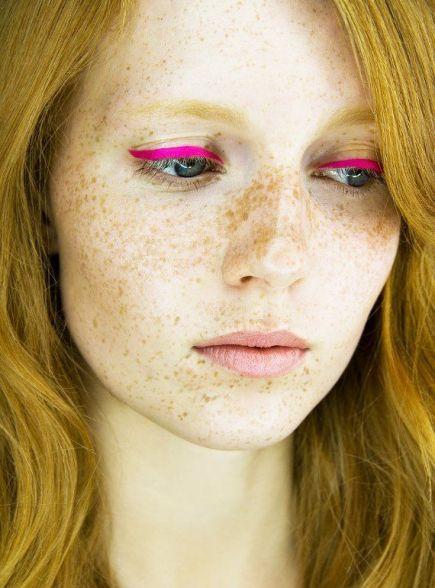 Image result for pink liquid eyeliner