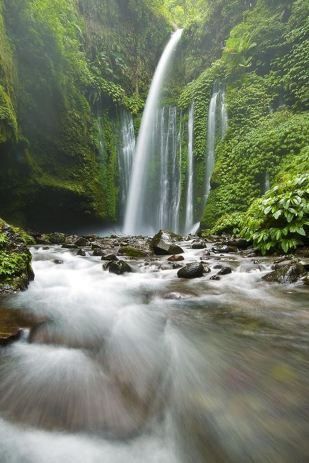 Tiu Kelep Waterfall in Lombok, Indonesia Amazing World