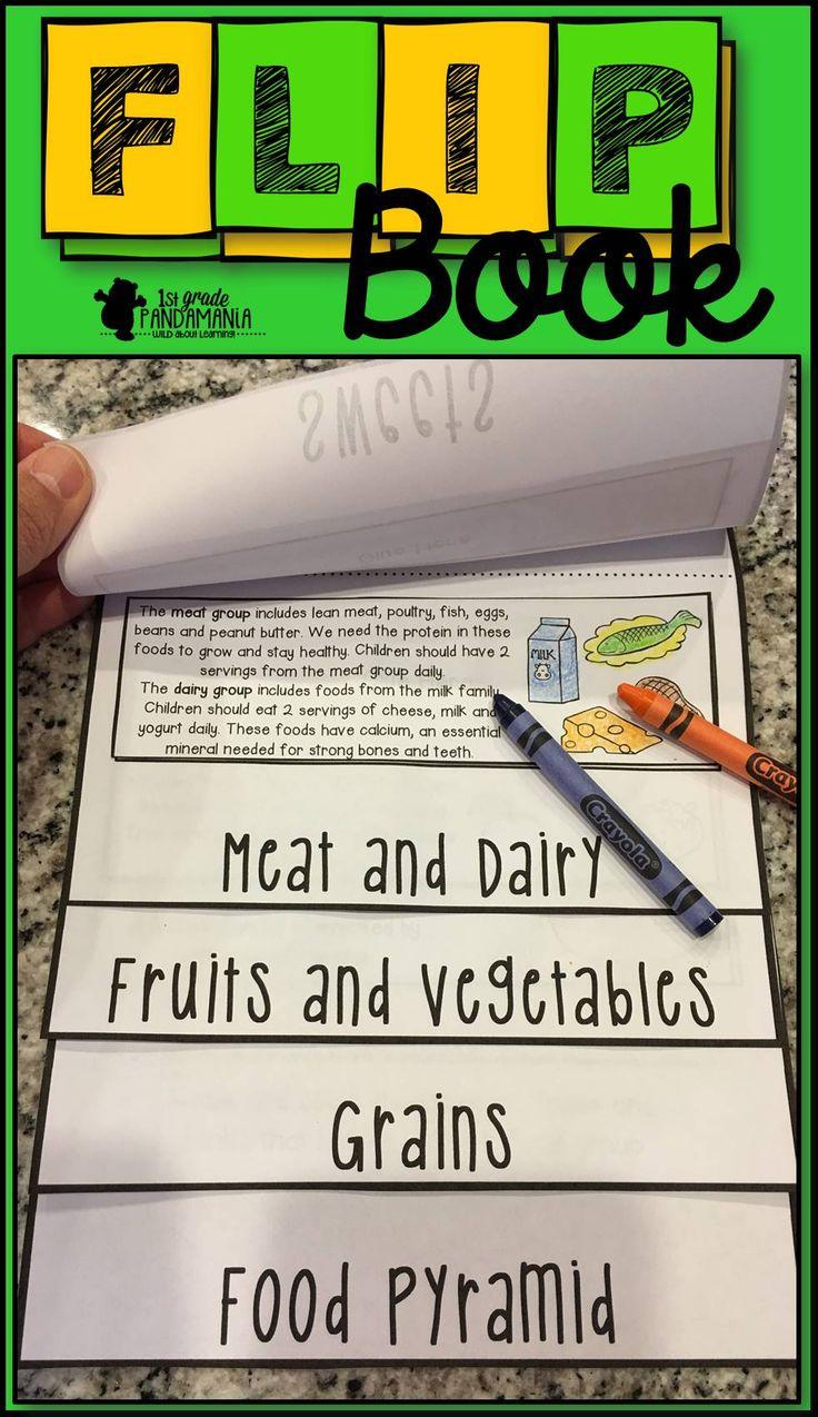 Food Pyramid FLIP Book Food pyramid, Flip books and Flipping