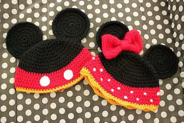 78 Best Ideas About Crochet Mickey Mouse On Pinterest