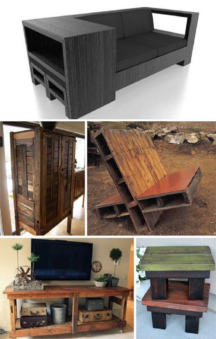DIY (Pallet Furniture) Ideas http//dunway.info/pallets