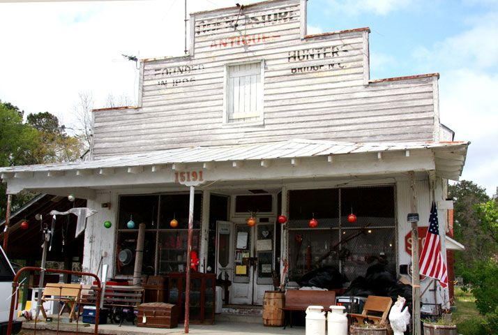 Odens Store Near Historic Bath North Carolina Is An Old