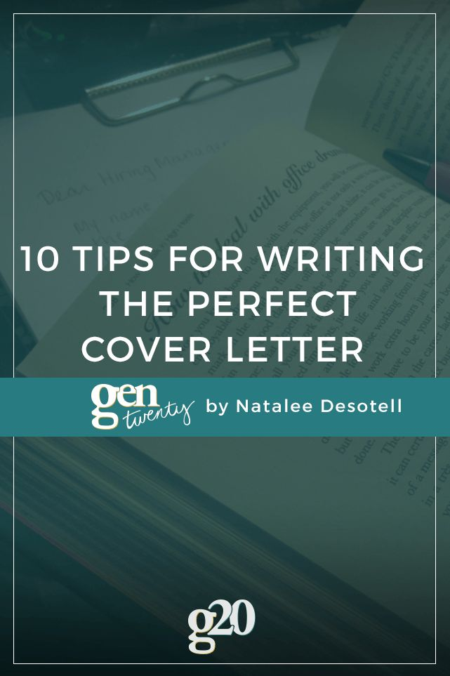 1000 ideas about cover letter tips on pinterest cover letters