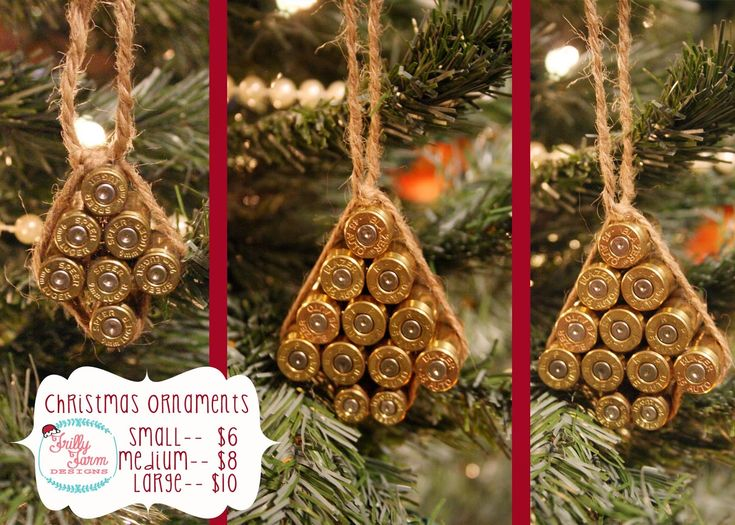 1000 Images About Christmas Ornaments Bullet Casing On