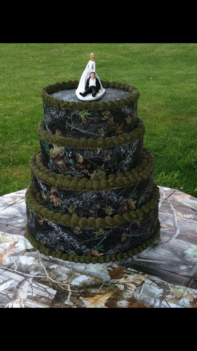 Maybe 1 Or 2 Layers For Camo Grooms Cake Sweet 16 For