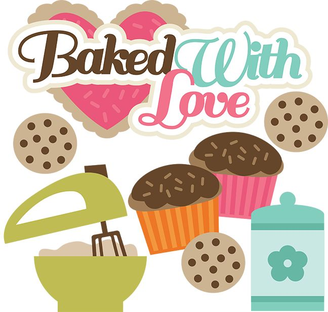 Download Baked With Love - SVG cutting files for scrapbooking ...