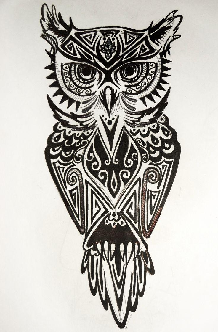 Owl tattoo Tattoos by Me Pinterest Owl tattoos, Owl