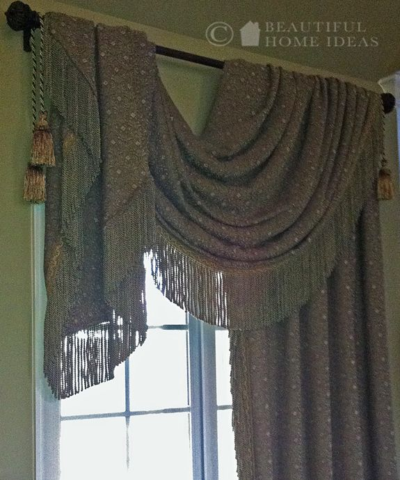 1000 Images About Swags On Pinterest Drapery Ideas