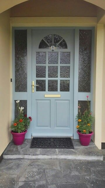 The Colour I Have Painted My Front Door Sweet Bluebird By