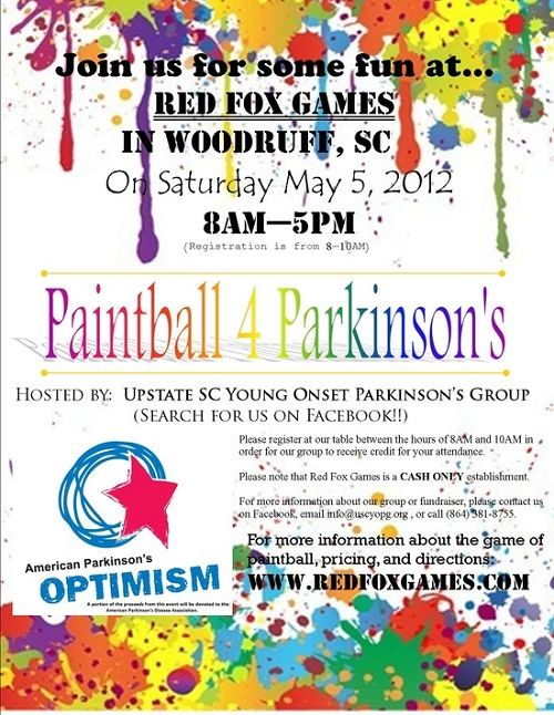 Paintball Fundraiser Auction Pizza And Food Amp Drinks