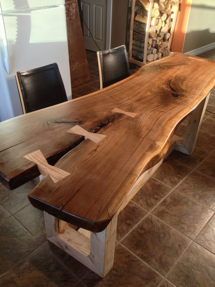 Live Edge Dining Table Google Search Woodworking