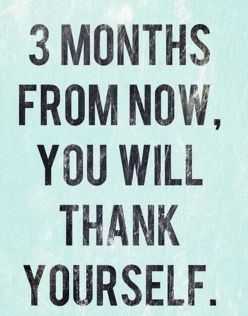 Losing Weight: 3 Months from now (pic) &  Weight Loss Motivation (Link)  #weightloss #motivation