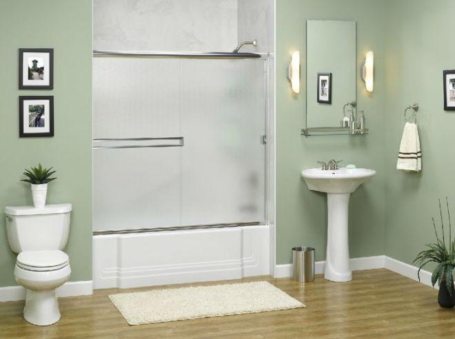 Acrylic bathtub liners wall systems refinishing