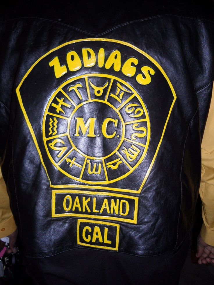 Zodiacs. Best Motorcycle Club name ever? Oakland, CA