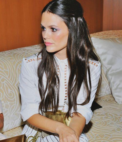 rachel bilson chloe fashion show