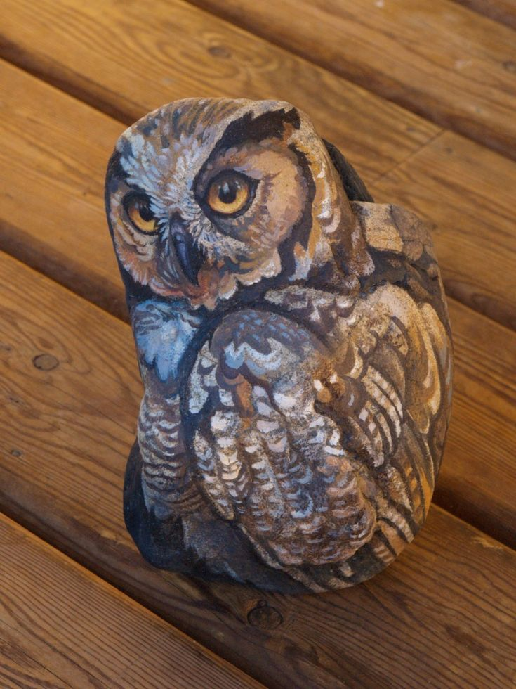 1000 Images About Pebbles And Stones Owl On Pinterest
