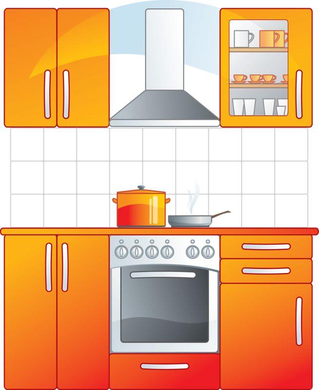 468 Best Clip Art Kitchen Clipart