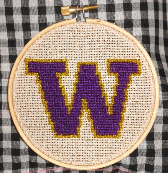 University of Washington UW Huskies Logo by