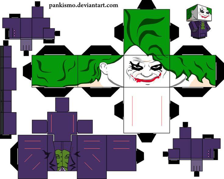 Papercraft Template Cubeecraft Spider Man