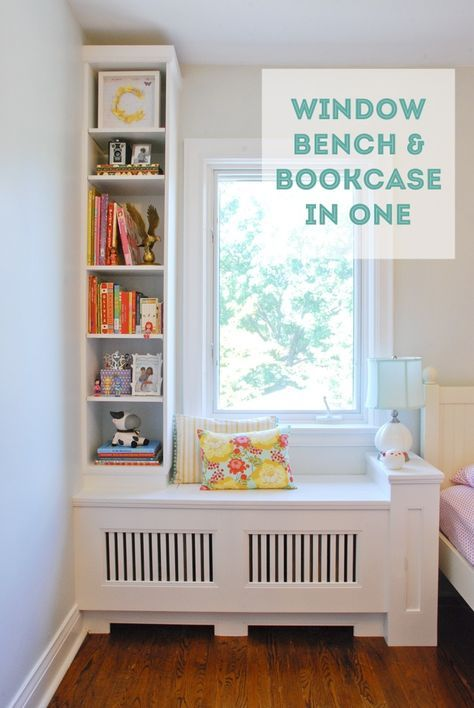 1000 Ideas About Bookcase Bench On Pinterest Window