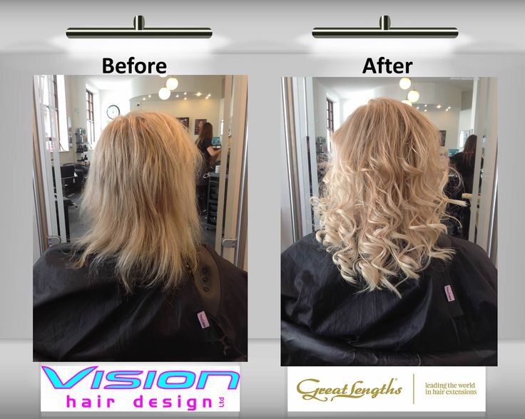 20cm 8 Great Lengths Hair Extensions Classic Fusion