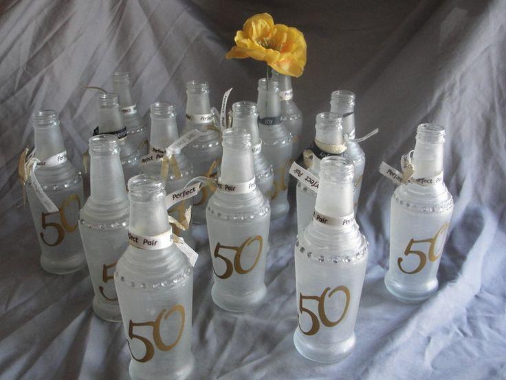 50th Anniversary Table Decor