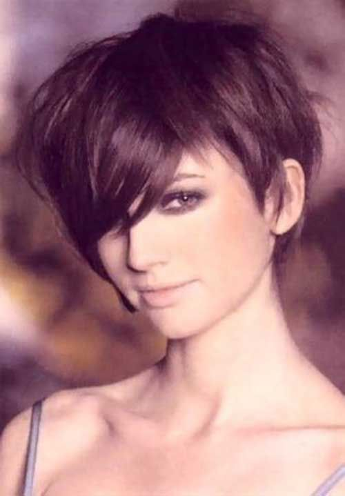 Thick Long Pixie  Hair  Pinterest  More Long pixie