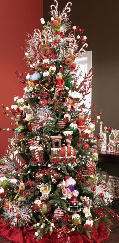 25 Themed Christmas Trees for 2013 by RAZ - Christmas Decorating -: