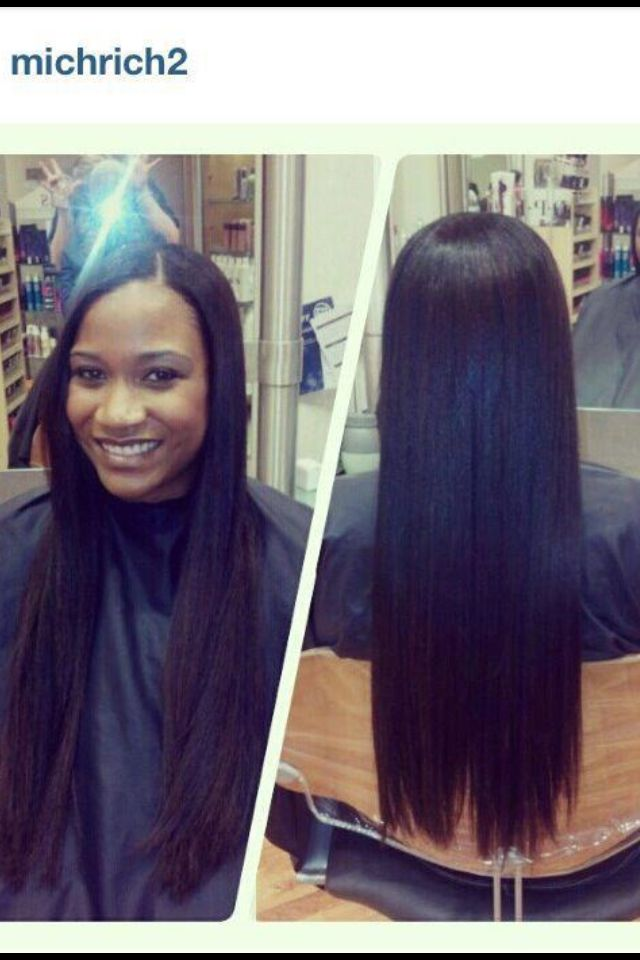 25 Best Ideas About Long Relaxed Hair On Pinterest