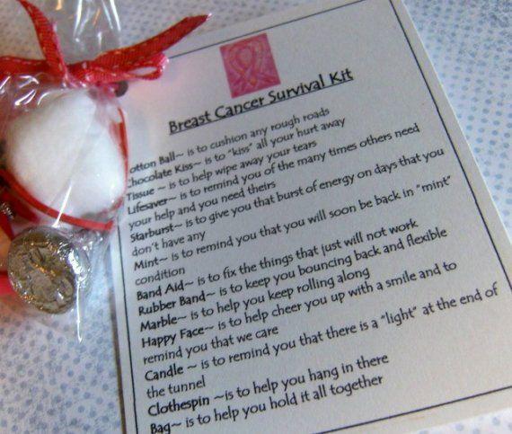 Breast Cancer Survival Kit Cancer Awareness Pinterest