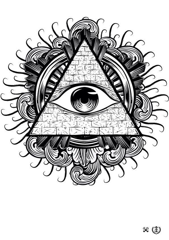 All seen eye tattoo inspiration Inspirational Tattoos