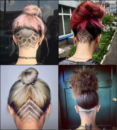Image result for undercuts women and men