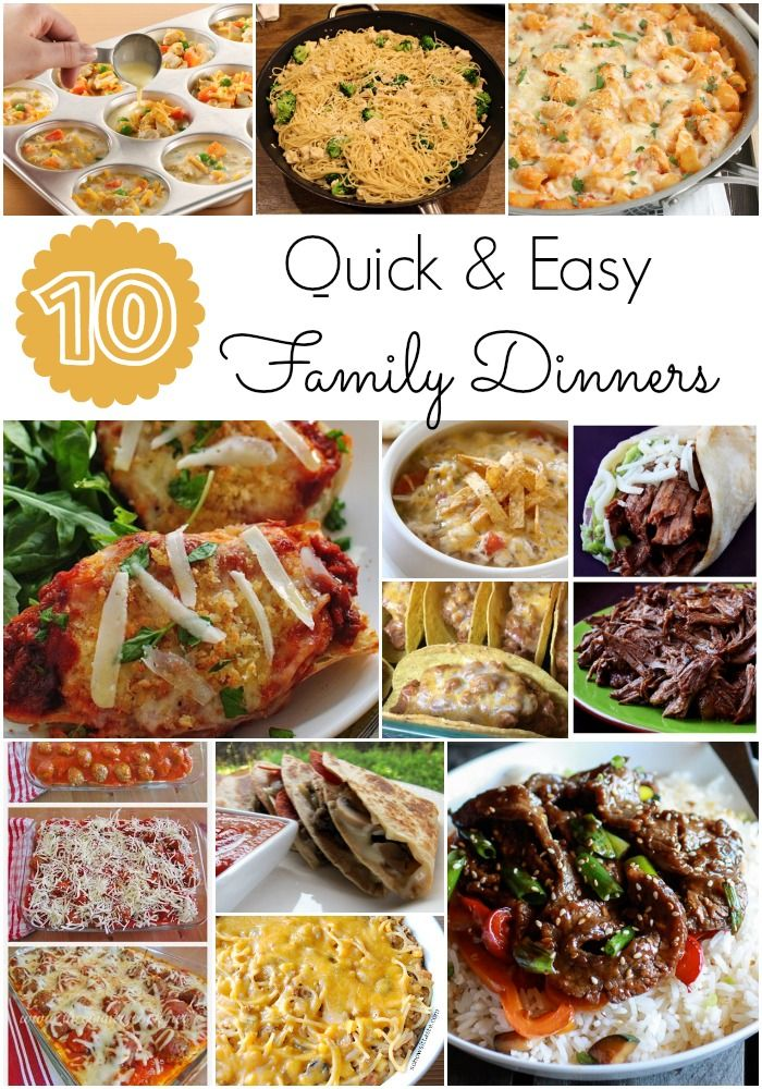Easy And Yummy Dinners