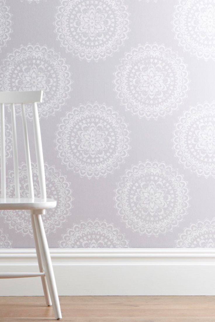 Buy Intricate Lace Medallion Wallpaper From The Next UK