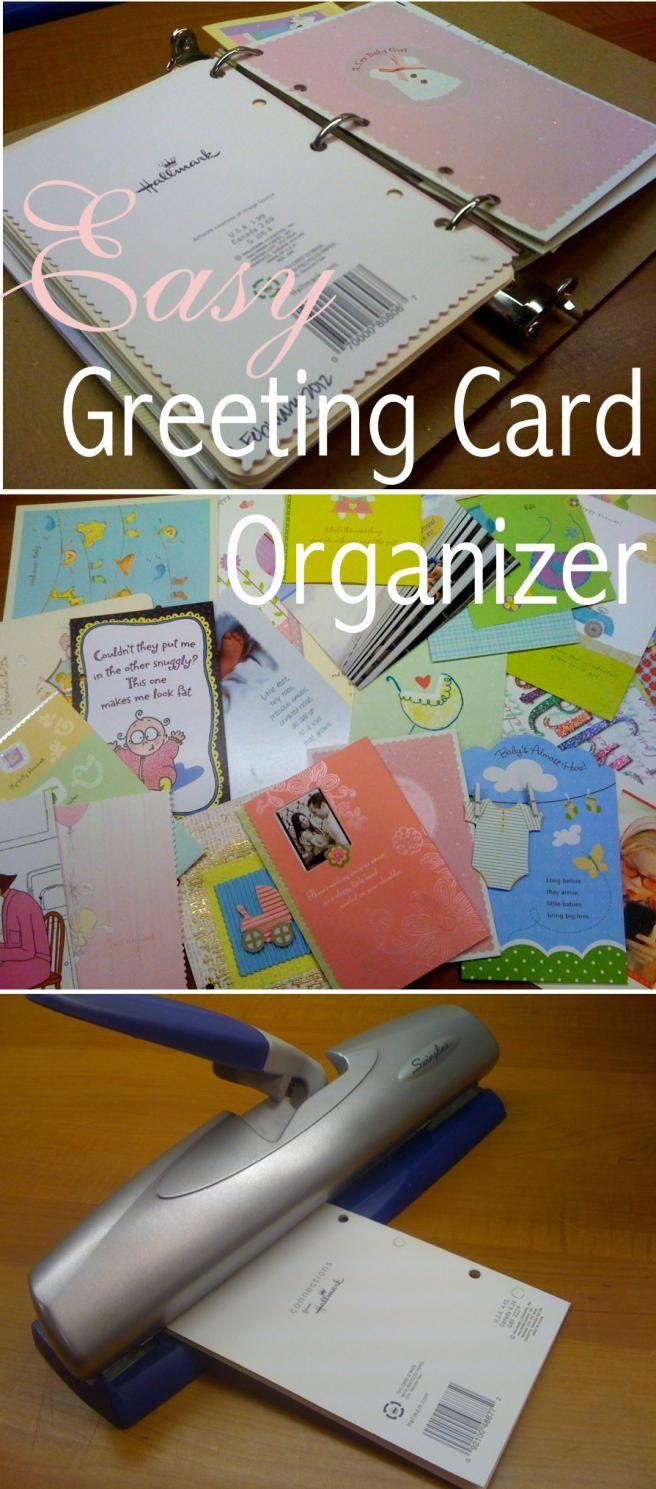 Best 25 Greeting Card Storage Ideas On Pinterest
