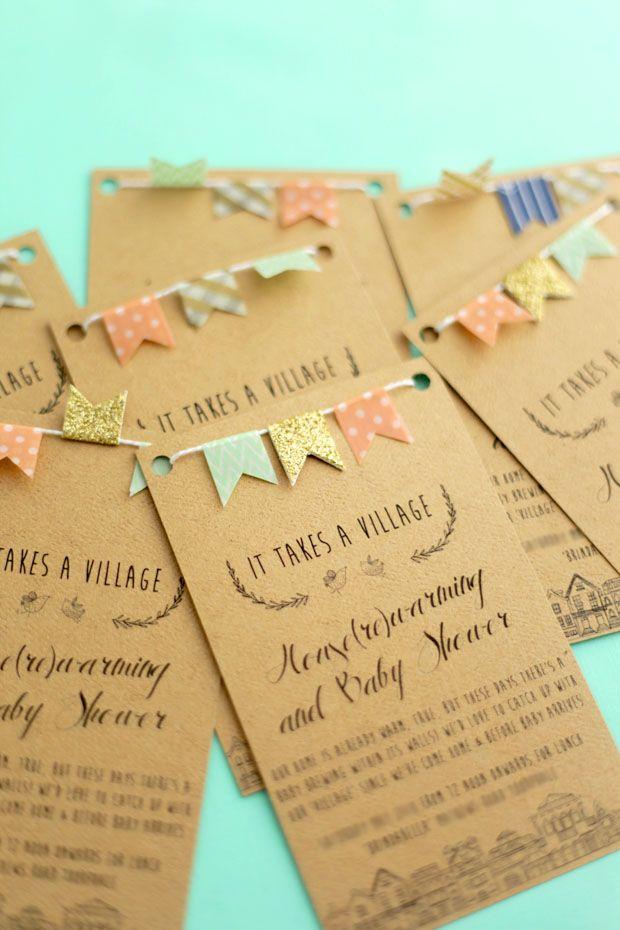 Making Baby Shower Invites PaperInvite