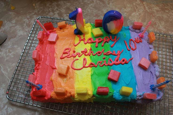 Starburst Cake Cake Desserts Ideas Pinterest Cakes